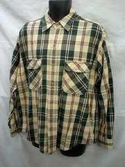 Levi's リーバイス チェック ネルシャツ(L)古着/USED