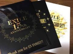 EXILE family 15th Photo book&Photo card