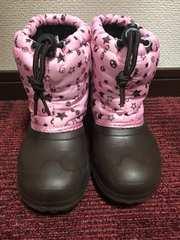 イグニオ スノーブーツ   ブラウン、ピンク 18.0 超美品♪♪