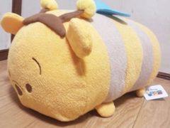 ディズニーツムツム/くまのプーさんBIGぬい(お腹クリーナー*ペレット)ハチプー