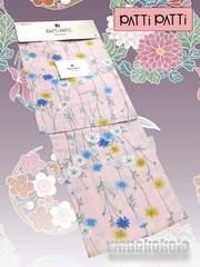 【和の志】ブランド浴衣◇PATTiPATTi◇薄桃・秋桜◇PT-1
