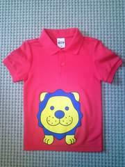 タカトシ ポロシャツ 赤 キッズ110サイズ