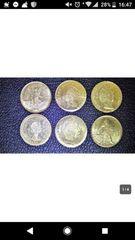 世界のミニ金貨 6枚おまとめ メキシコ アメリカ イギリスなど
