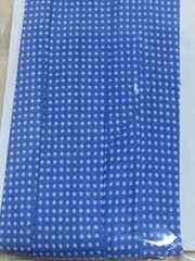 nario*バイアス25*水色ブルー地に白2mmドット