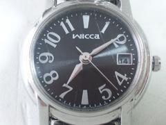 10350/シチズンwicca芸能人愛用シリーズブランドグレーダイヤルレディース腕時計★