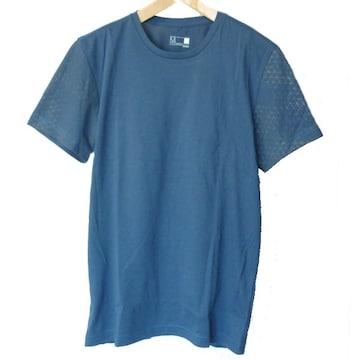 新品◆送料無料◆adidas青クライマライトバクプリTシャツ(M)