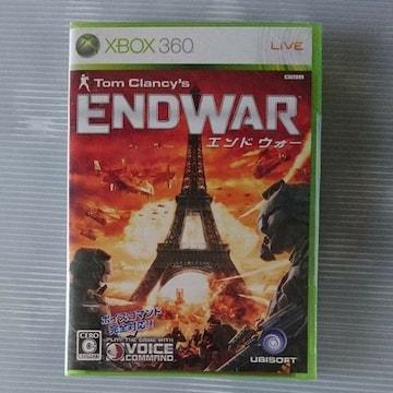 XBOX360 新品未開封 トムクランシー エンドウォー END WAR