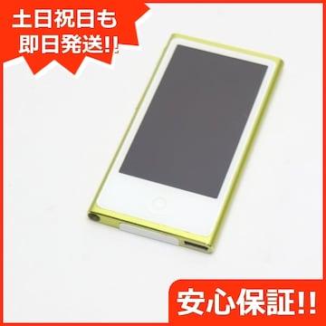 ●安心保証●美品●iPod nano 第7世代 16GB イエロー●