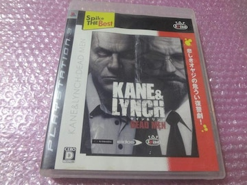 堀PS3  KANE&LYNCH:DEAD MEN Best
