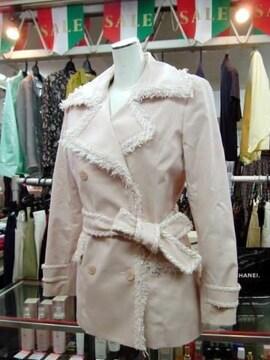 【KLEIN D'OEIL】ピンクのジャケットコートです