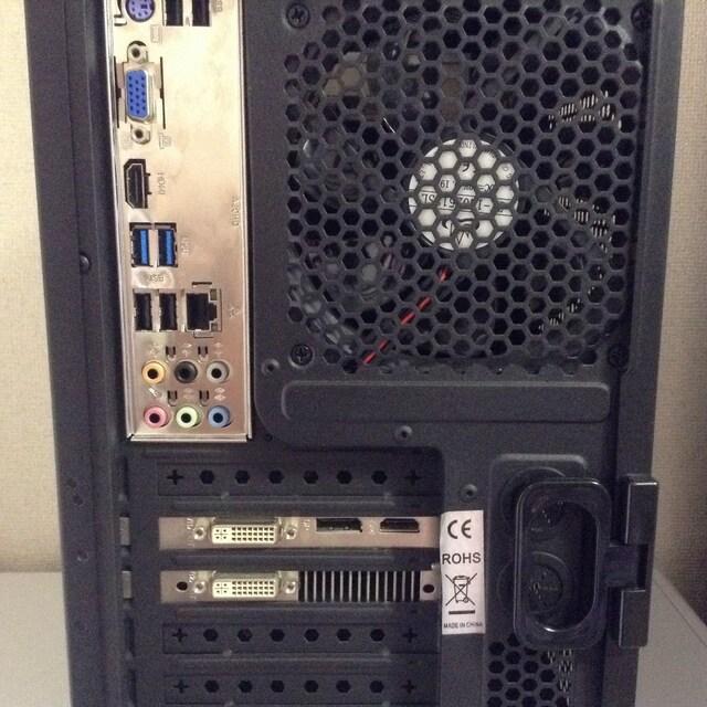 i7 3770 3.4GHz/SSD 240GB/HDD 2TB/NVIDIA GTX 780 ti < PC本体/周辺機器の