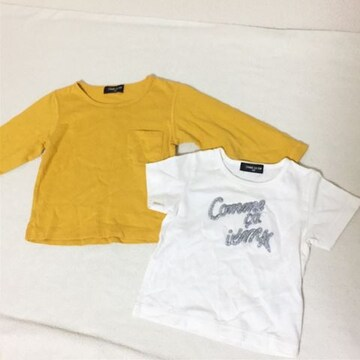 #COMME CA ISM Tシャツ2点セット80