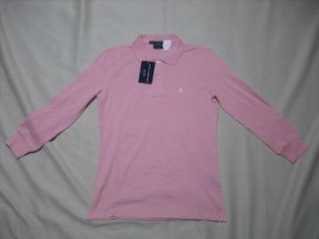 女 Ralph Lauren ラルフローレン 7分袖ポロシャツ XSサイズ