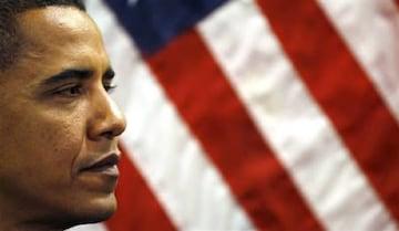 米軍基地内PX品 オバマ 当選TシャツXL