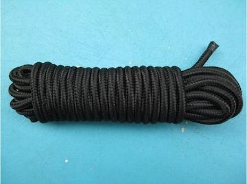 SMプレイ 緊縛 ソフトシルクロープ ブラック0609