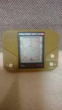 貴重!当時モノ ゲームウォッチ Mr.ウッドマン 木こり エポック社 1982日本製