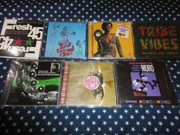 MURO『TRIBE VIBES』『HOT DOG BREAKS』など7枚セット 廃盤MIXCD