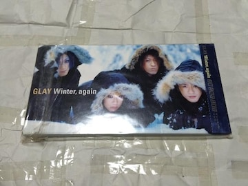 glay winter again シングルCD