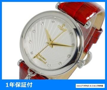 新品即買■ヴィヴィアンウエストウッド 女性 腕時計 VV108WHRD