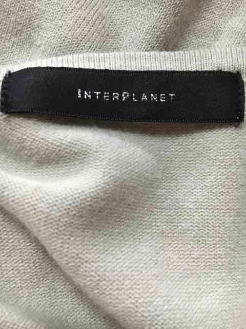 【INTERPLANET】インタープラネット◆洗練ビジューニット◆2 < 女性ファッションの