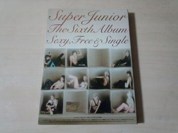 スーパージュニアCD「Super Junior Vol. 6 Sexy, Free & Single