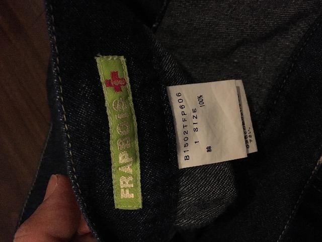 フラボア サルエル風デザイン ひざ丈パンツ ネイビー 個性的 < ブランドの
