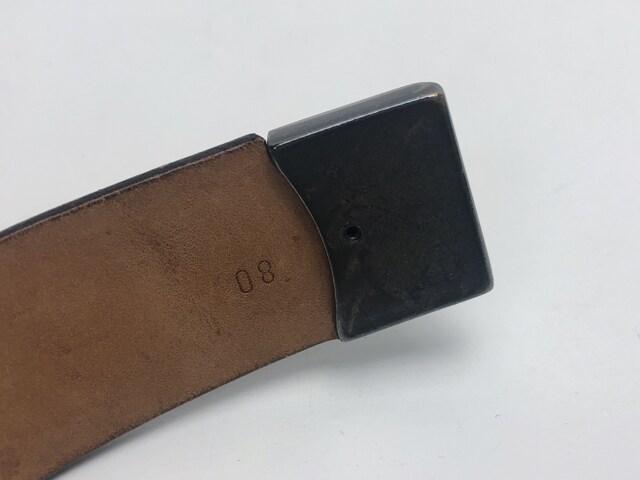 C092 エトロ ETRO メンズ ベルト 本革 イタリア製 ブラウン
