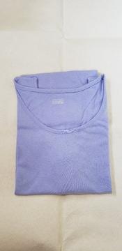 タンクトップ 薄い青紫色 綿100% レディースLサイズ コットンタンクトップ 新品未使用
