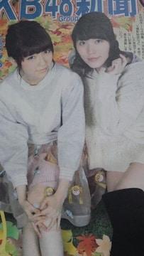 AKB新聞2013年1月号ぱるる珠理奈 ゆいはんみなるん