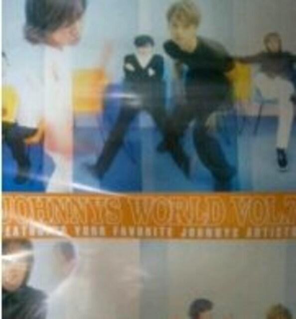 LAWSON JOHNNYS WORLDポスター/SMAP 香取慎吾 稲垣吾 草〓剛  < タレントグッズの