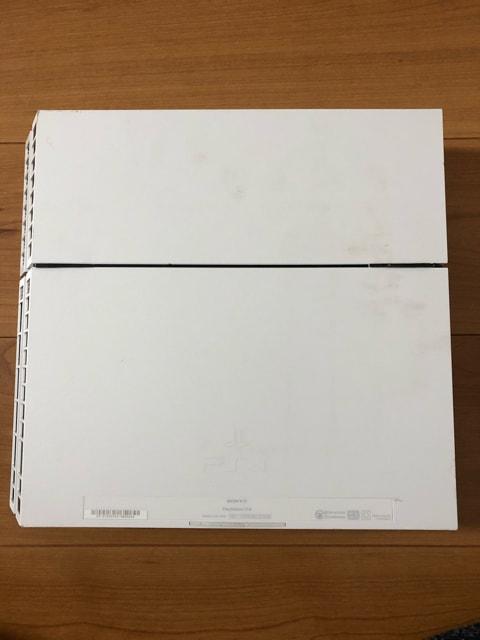 SONY PS4本体 ホワイト 1100A ジャンク品 < ゲーム本体/ソフトの