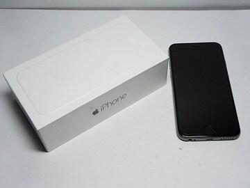 ◆安心保証◆新品即決◆au iPhone6 64GB スペースグレイ◆白ロム