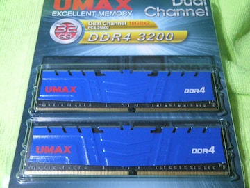 【32GB分】288pin DDR4-3200 CL16 32GB(16GBx2枚組)SET ★★