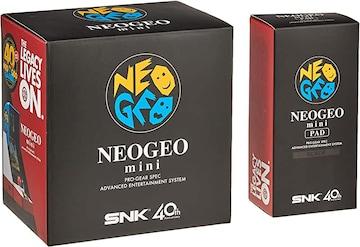 ■ゲーム機『ネオジオ ミニ + ミニパッド (黒)セット