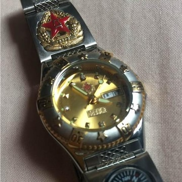 実物 官給品 中国軍女将校用07式腕時計 未使用