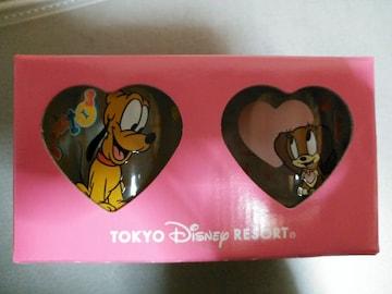 ディズニー☆タンブラーセット(コップ)☆プルート&フィフィ