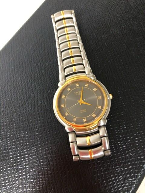 1スタ☆美品 CITIZEN EXCEED 腕時計