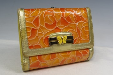 Anna Sui アナスイ がま口 二つ折り財布