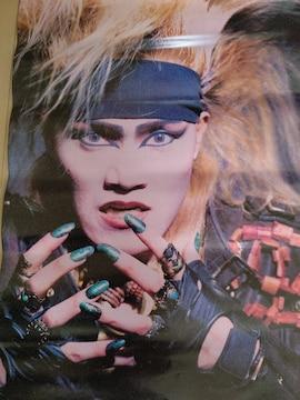 X JAPAN ToshI ポスター 1991年 jealousy