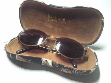 キャサリンハムネット サングラス ニコルミラー眼鏡ケース