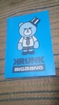 BIGBANG【オリジナルノート】VI