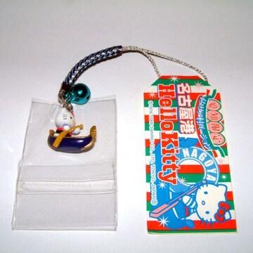 ハローキティ HELLO KITTY ストラップ 愛知限定 名古屋港 イタリア村1 絶版