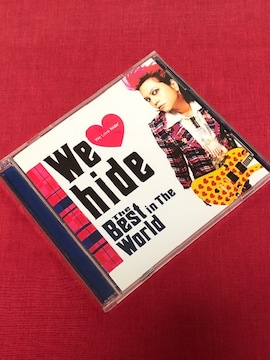 【即決】hide(BEST)CD2枚組