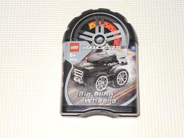 LEGO 8658 RACERS BIG BLING WHEELIE ビックブリングホイール  < おもちゃの