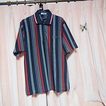 KENZOのポロシャツ GORF 半袖 (5) 日本製 !