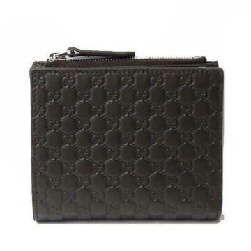 GUCCI 544475-BMJ1N-1000  二つ折り財布(小銭入れ有り) ブラック