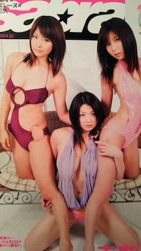 相澤仁美・堀田ゆい夏・仲村みう…【sabra】2008年4月号