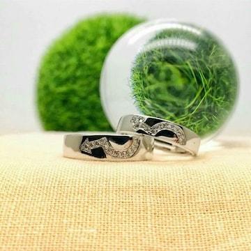 [即日発送]大人気 2個セット ペアリング フリーサイズ 指輪