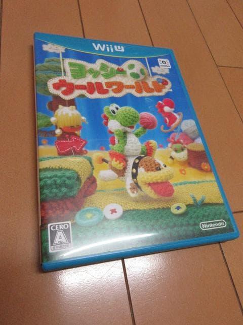 [美品]任天堂WiiU ヨッシー ウールワールド  < ゲーム本体/ソフトの