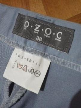 OZOC/オゾック落ち着いたブルーのパンツ ストレッチ/送料370円